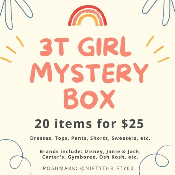3T Girls Clothing Mystery Box ❤